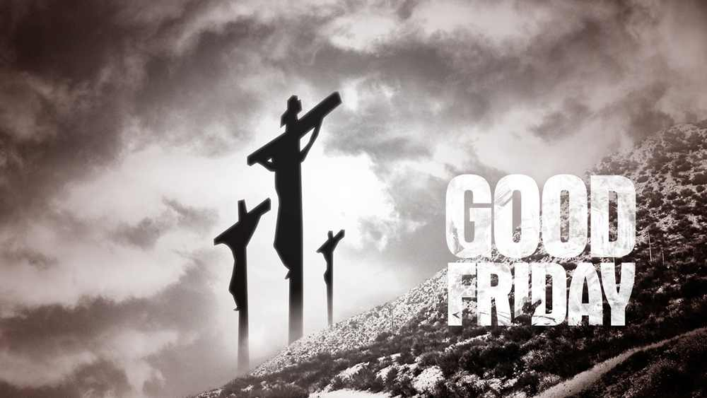 Good Friday blank image