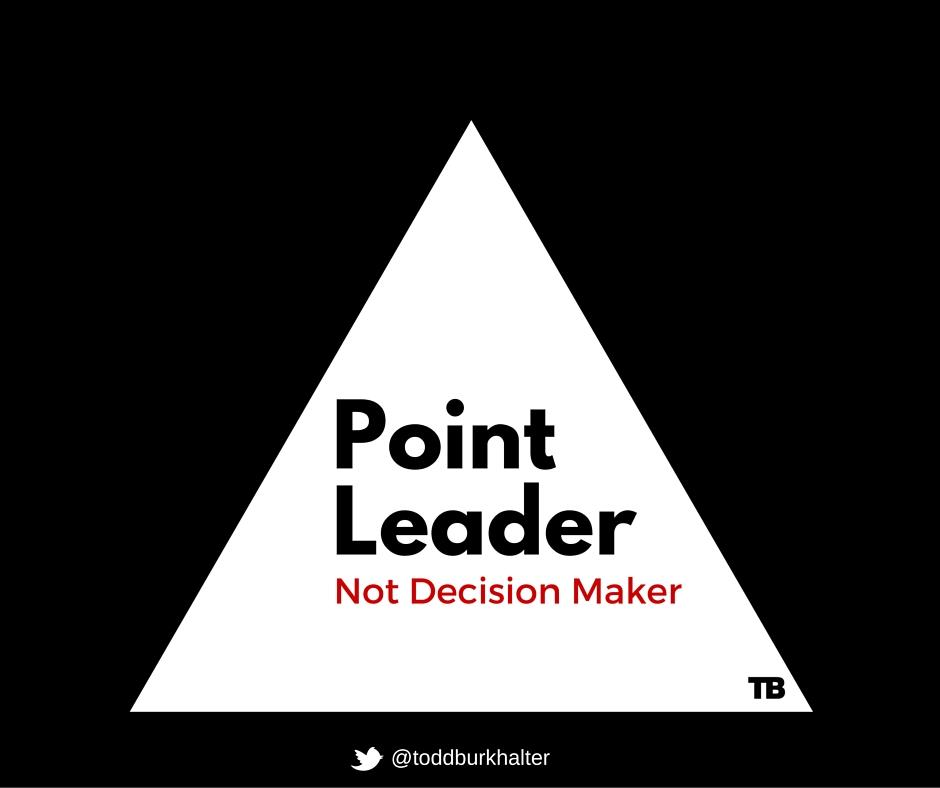point leader